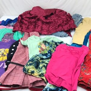 Other - 5 lb assorted clothing lot of girls sz 5